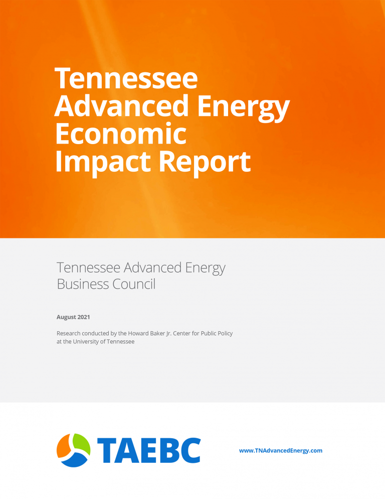 TAEBC Economic Impact Cover